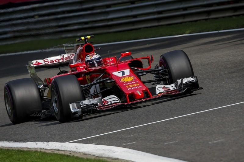 Kimi Raikkonen: Sebastian Vettel's Spa qualifying tow my own idea