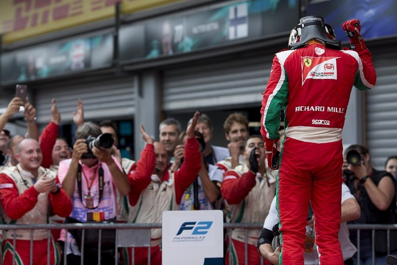 Spa Formula 2: Ferrari F1 junior Leclerc dominates feature race