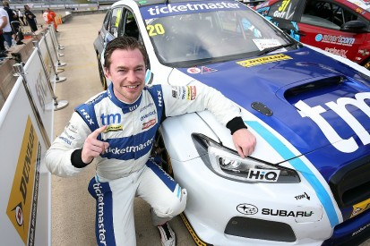 Rockingham BTCC: James Cole takes shock maiden career pole