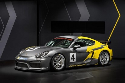 Porsche unveils new Cayman racer to be homologated in GT4