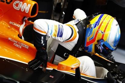 Taking Pouhon flat 'confused' Fernando Alonso's McLaren-Honda