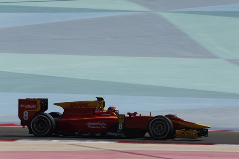 Bahrain GP2: Rossi leads champ Vandoorne in tight practice session