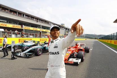 Belgian GP qualifying: Hamilton equals Schumacher's F1 pole record