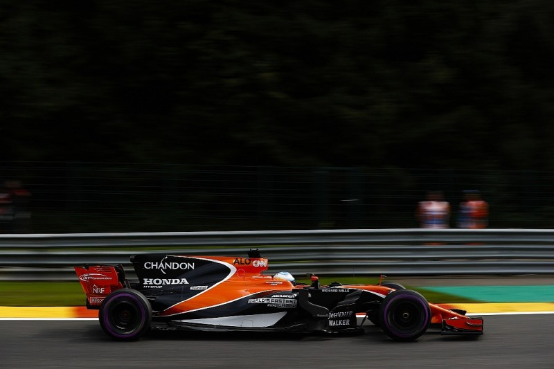 Fernando Alonso: McLaren easily fastest at Spa if it had more power