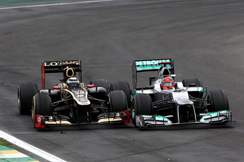 Raikkonen/Schumacher F1 dice inspired Verstappen Brazilian GP moves