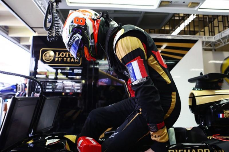 'Affected' by Paris attacks, Grosjean resolve moves Lotus F1 team