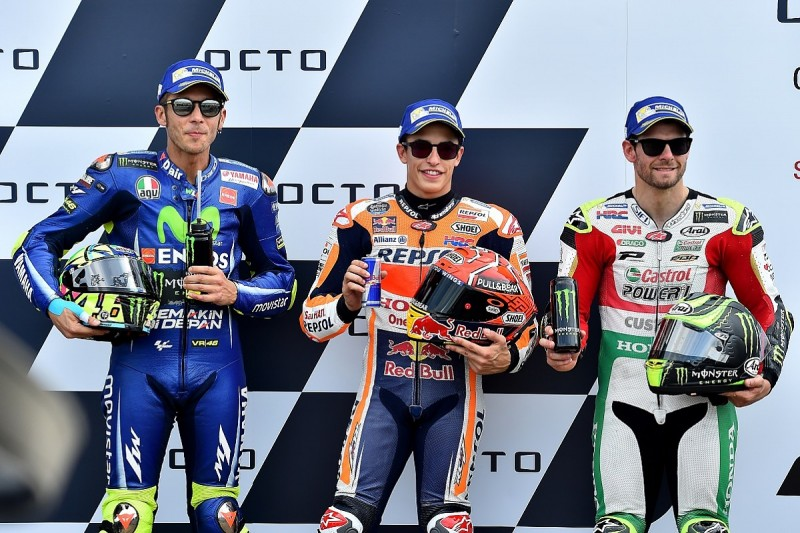 Silverstone MotoGP: Marquez denies Rossi pole with lap record