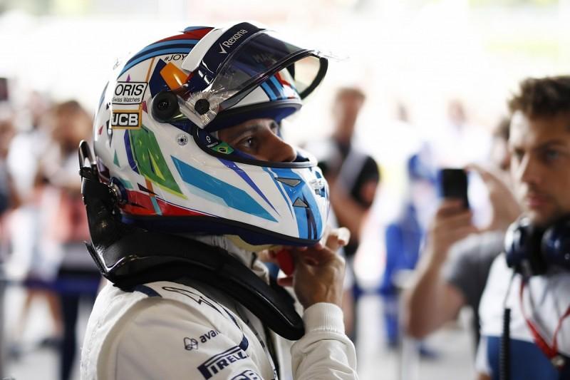 Felipe Massa: Williams falling behind in development race