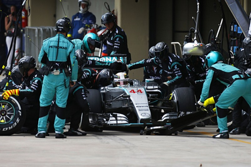 Drivers' strategy calls would be wrong - Mercedes F1 boss Wolff