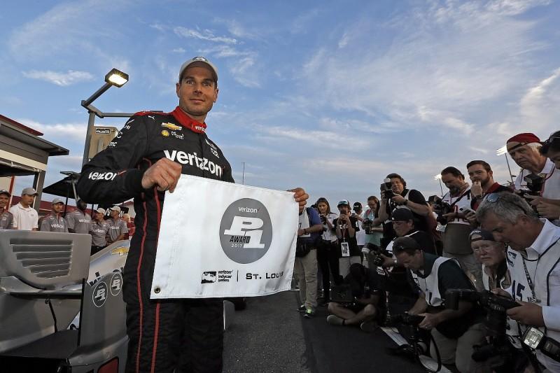Gateway IndyCar: Will Power on pole in all-Penske top four