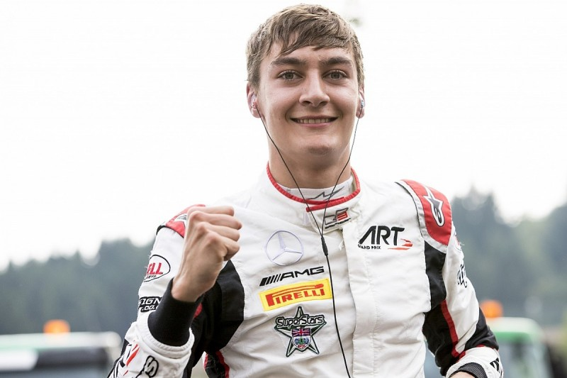 Spa GP3: Mercedes junior Russell takes pole in ART one-two