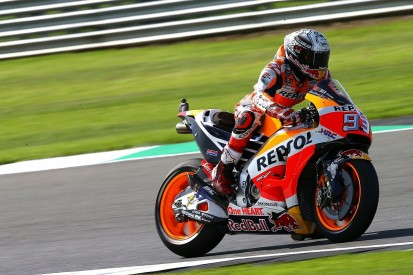 Silverstone MotoGP: Marquez angry at himself for first FP2 crash