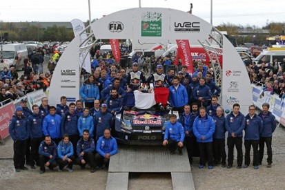 WRC Rally GB: Volkswagen's Ogier takes sombre win to finish season