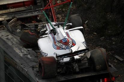 Felipe Massa will miss Belgian GP practice two after crash