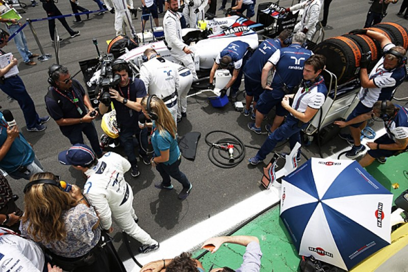 Brazilian GP: Williams F1 driver Felipe Massa excluded over tyres