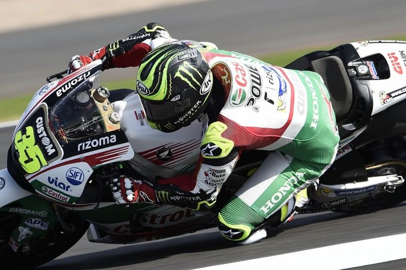 Silverstone MotoGP: Crutchlow fastest, Marquez crashes twice