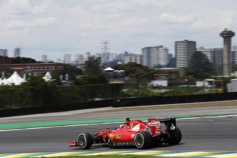 Brazilian GP: Ferrari F1 driver Kimi Raikkonen 'bored' in fourth