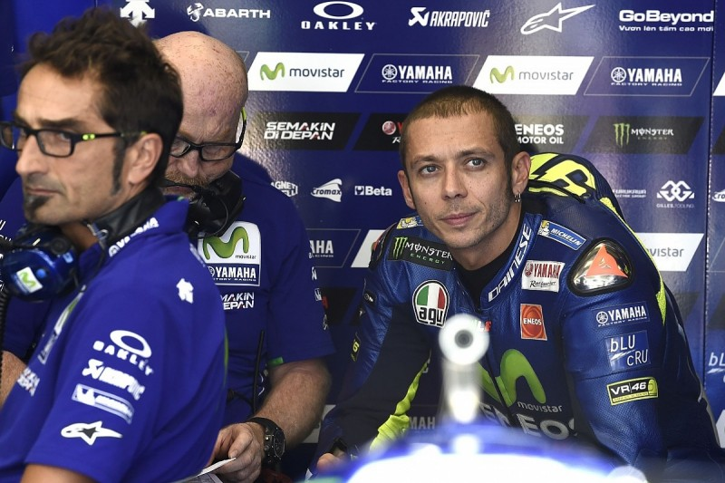 Rossi doesn't picture himself featuring in 2017 MotoGP title fight
