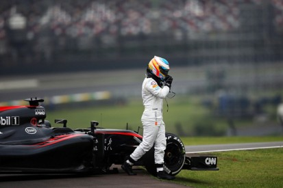 McLaren's Alonso to use 12th Honda engine of F1 season in Brazil