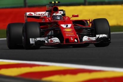Belgian GP: Raikkonen pips Hamilton to fastest time in Spa FP1