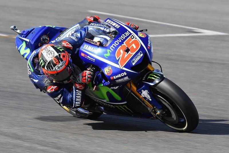 Silverstone MotoGP: Maverick Vinales pips Jorge Lorenzo in practice