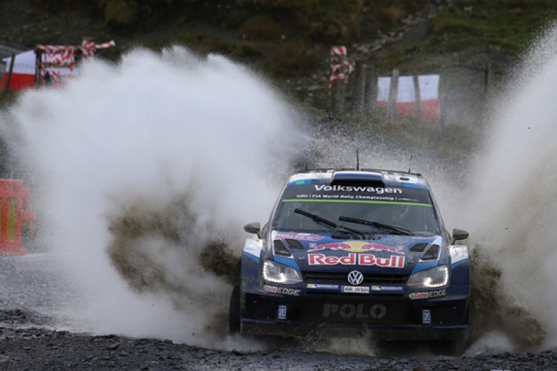 WRC Rally GB: Volkswagen's Ogier gets lead back from Meeke