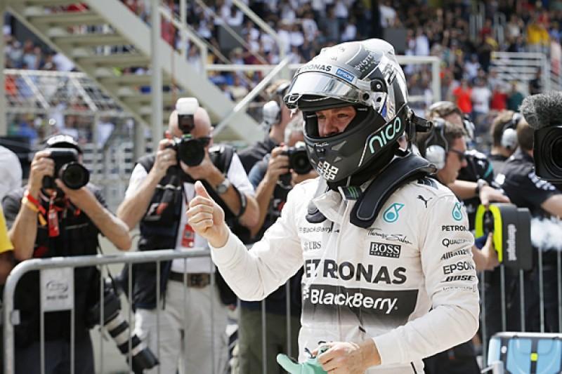 Brazilian GP: Nico Rosberg extends F1 pole streak at Interlagos