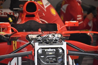 Ferrari introduces detailed update to SF70H F1 car for Belgian GP
