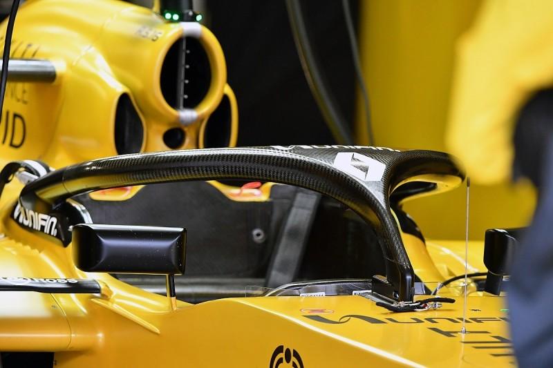 Renault Formula 1 team expects debate over 2018 halo aero fairings
