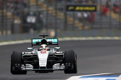 Brazilian GP: Lewis Hamilton leads opening Friday F1 practice