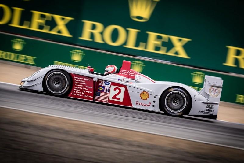 Kristensen drives 2005 Le Mans, Sebring-winning Audi at Laguna Seca