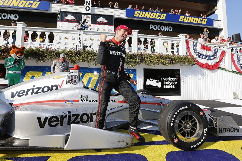 Pocono IndyCar winner Will Power 'lucky' not to crash early on