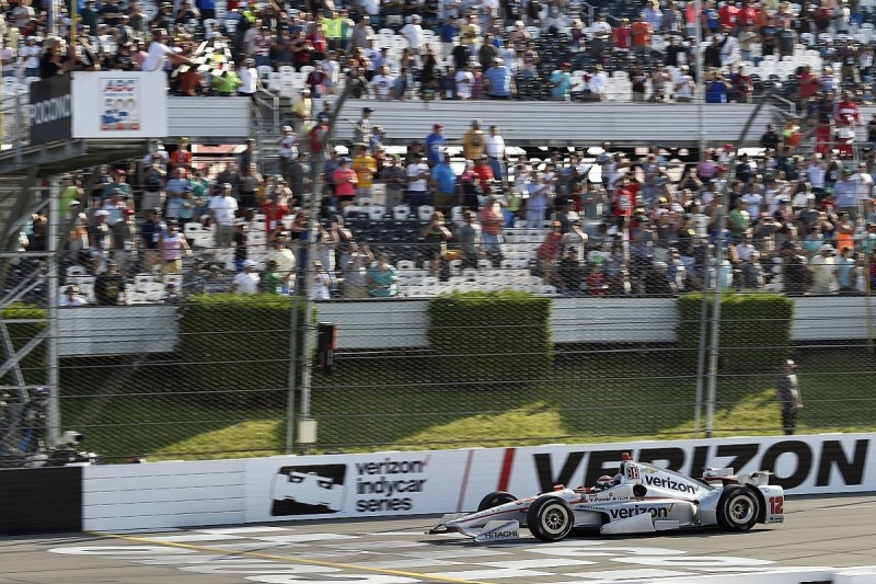 Pocono IndyCar: Penske's Will Power recovers from lap down to win