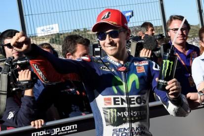 Valencia MotoGP: Jorge Lorenzo refusing to take title for granted