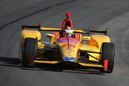 Pocono IndyCar: Ryan Hunter-Reay leads crash-disrupted practice