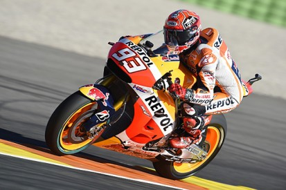 Valencia MotoGP: Marc Marquez beats Jorge Lorenzo in warm-up