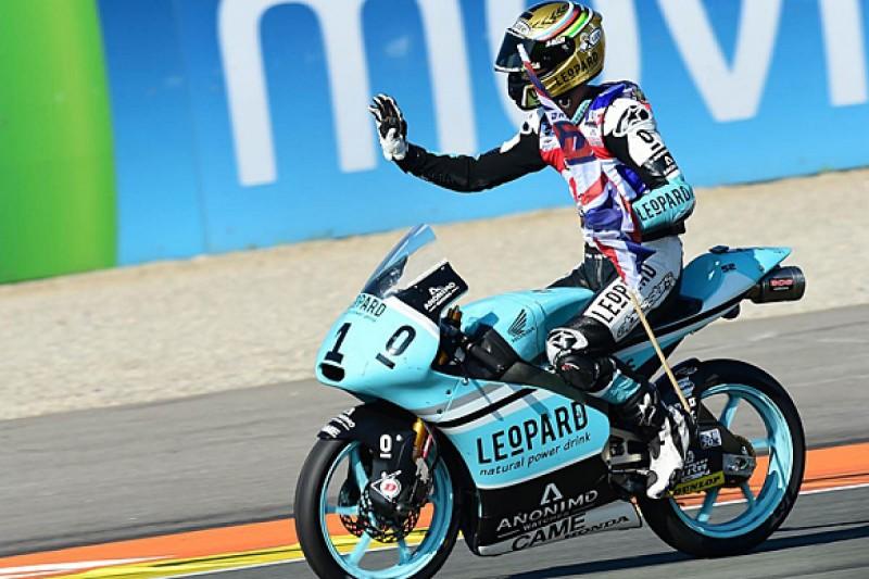 Danny Kent clinches 2015 Moto3 title at Valencia finale