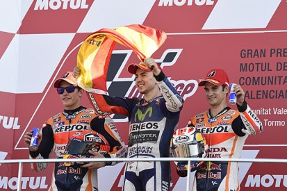Marquez denies protecting Lorenzo to stop a Rossi MotoGP title win