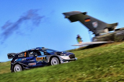 WRC Rally Germany: Ott Tanak holds lead into final day for M-Sport