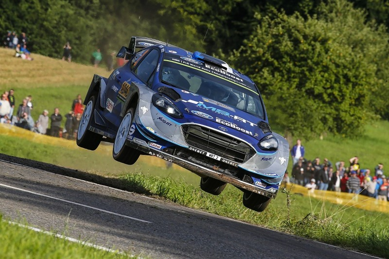 Rally Germany: Tanak still ahead as Mikkelsen cuts his advantage