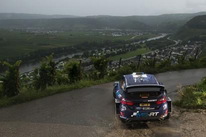 Rally Germany: Ott Tanak retakes lead from Andreas Mikkelsen