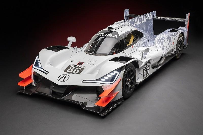 Acura unveils Daytona Prototype for 2018 IMSA Penske entry