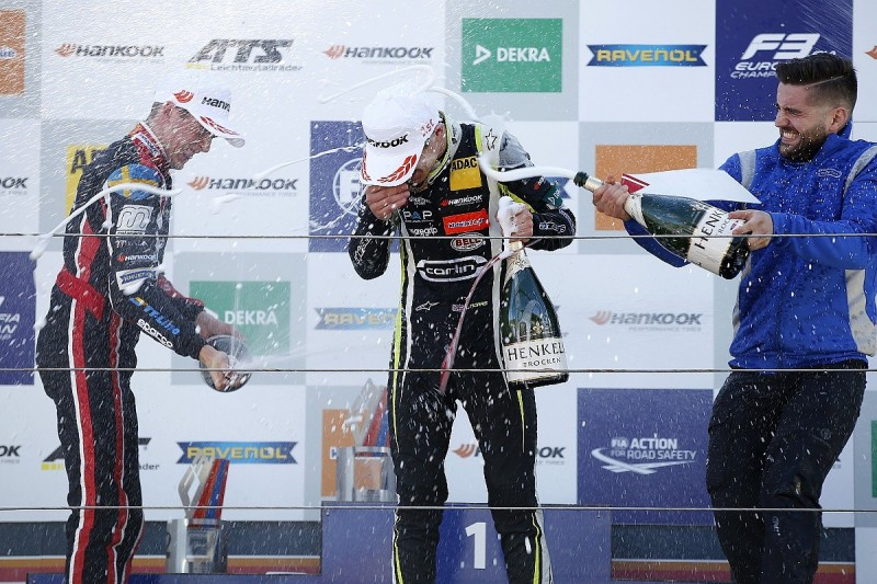 Zandvoort European Formula 3: McLaren's Lando Norris wins race one