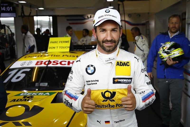Zandvoort DTM: Timo Glock takes pole for BMW before rain hits