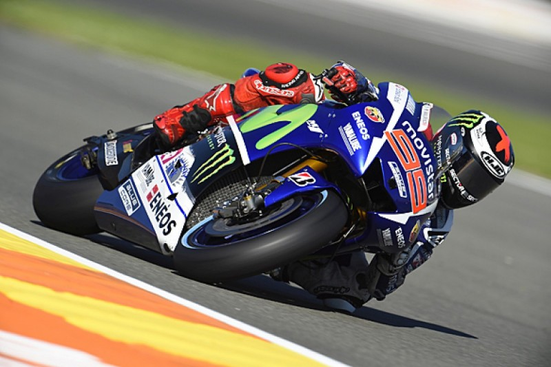 Valencia MotoGP: Jorge Lorenzo fastest in second practice