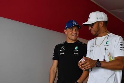 Mercedes F1 boss Wolff surprised by Hamilton/Bottas harmony
