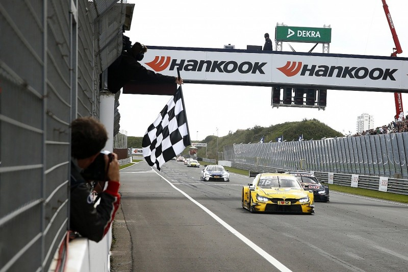 Zandvoort DTM: Timo Glock holds off Marco Wittmann to win race one