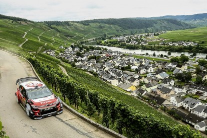 Rally Germany: Mikkelsen leads WRC event for Citroen for first time