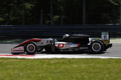 Euro F3 Zandvoort: Honda junior Makino back early after wrist break