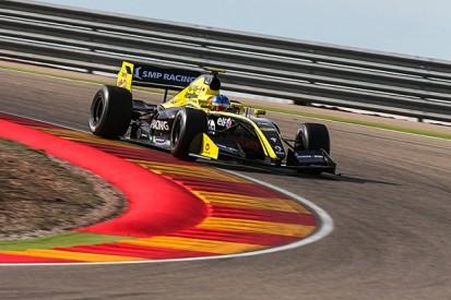 Aragon Formula 3.5 V8 test: Isaakyan and Barnicoat set pace